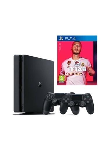 Sony Ps4 Slim 1 Tb Oyun Konsolu + 2. Ps4 Kol + Ps4 Fıfa 2020 Renkli